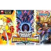 Buddyfight TCG Booster Roar! Invincible Dragon!! Booster Box - 30 Packs