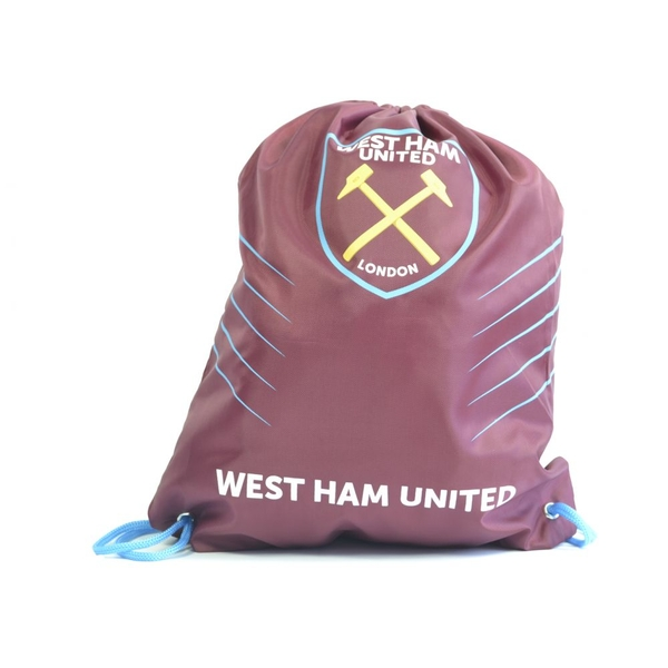 West Ham Spike Draw String Gym Bag