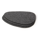 Felt Placemats and Coasters | Pukkr Set of 9 - Image 3
