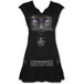 Black Cat - Stud Waist Women's X-Large Mini Dress - Black - Image 2