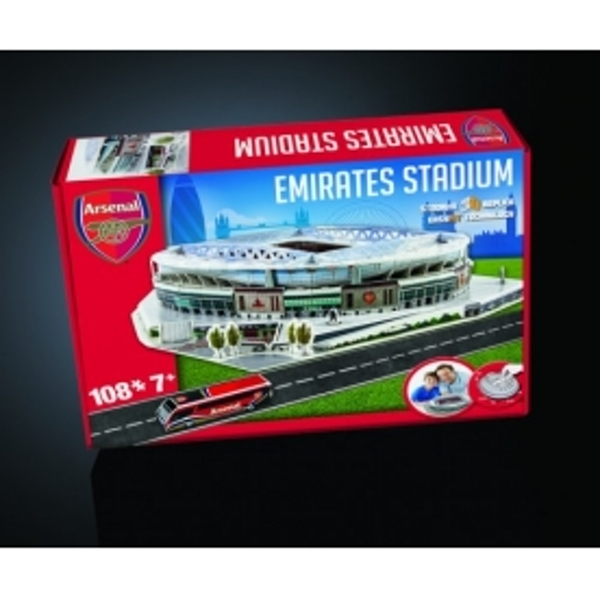 Arsenal Emirates Football Stadium 3D Jigsaw Puzzle - Image 1