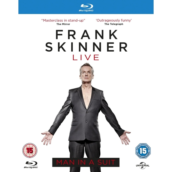 Frank Skinner Man in a Suit Blu-ray