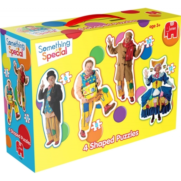Somethin Special 4 in 1 Shaped Jigsaw Puzzles