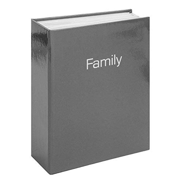 "4""x 6"" - iFrame Charcoal Grey Gloss Album - Family"