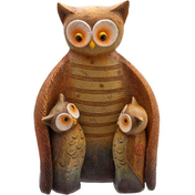 Owl Family Figure