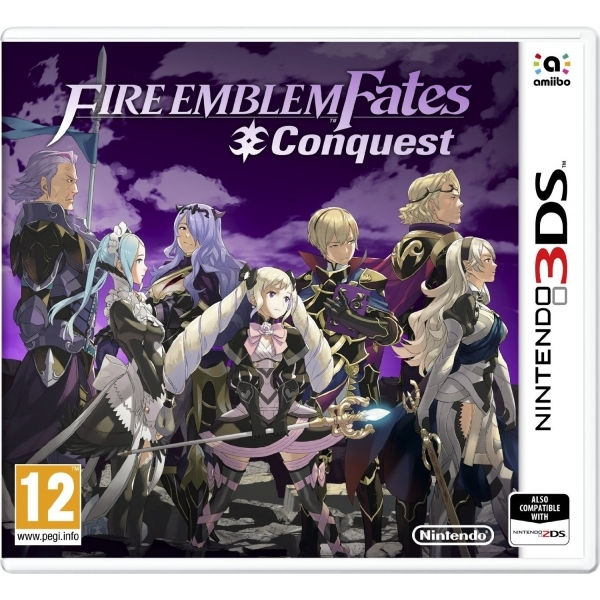 Fire Emblem Fates Conquest 3DS Game - Image 1