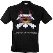 Metallica Master of Puppets Unisex X-Large T-Shirt - Black