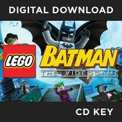 Lego Batman The Video PC CD Key Download for Steam