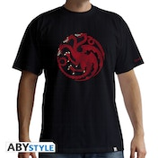 Game Of Thrones - Targaryen Men's XX-Large T-Shirt - Black
