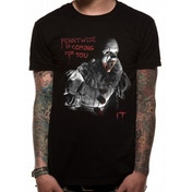 IT- Coming For You Men's Small T-Shirt - Black