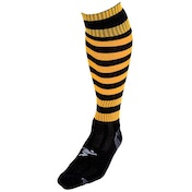 Precision Hooped Pro Football Socks Junior