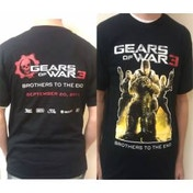 Gears Of War 3 Brothers To the End T-Shirt Size Medium
