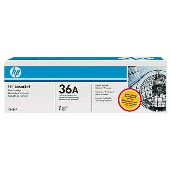 HP CB436AD (36A) Toner black, 2K pages, Pack qty 2 - Image 2