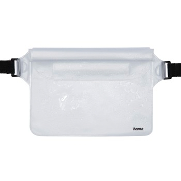 "Hama ""Waterproof outdoor bag for smartphones, transparent"