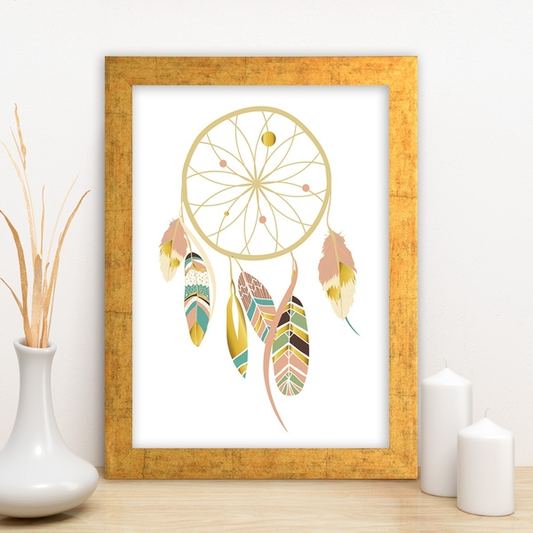 AC3708766943 Multicolor Decorative Framed MDF Painting