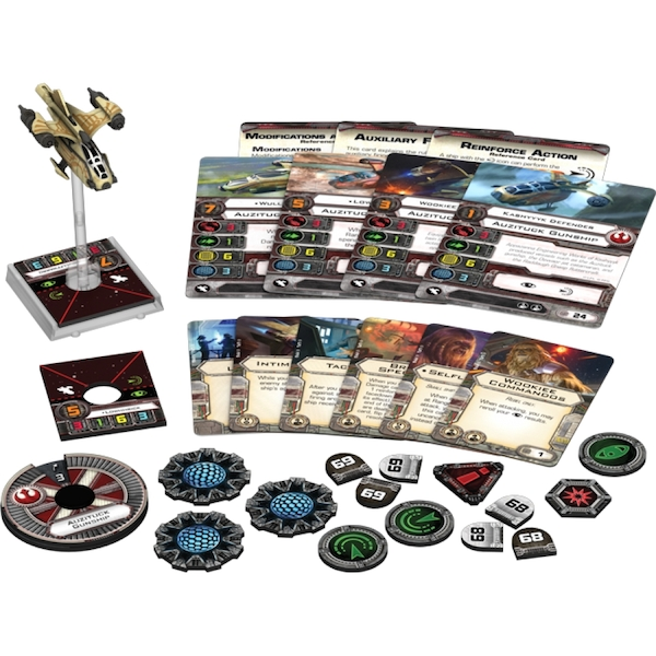 Auzituck Gunship X-Wing Miniature (Star Wars) Expansion Pack - Image 2
