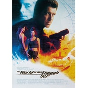 James Bond - The World Is Not Enough Postcard