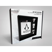 Assassins Creed - Logo Hip Flask Gift Set