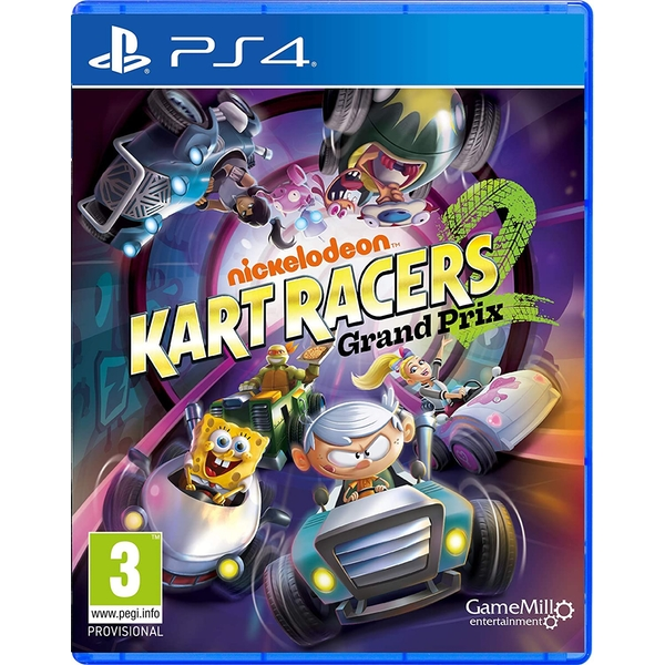 Nickelodeon Kart Racers 2 Grand Prix PS4 Game - Image 1