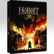 The Hobbit: Battle of the Five Armies 3D Steelbook [Blu-Ray]