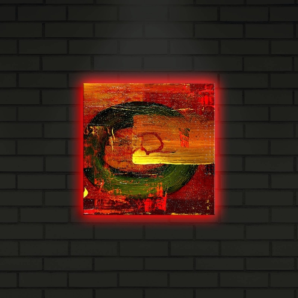 2828DACT-20 Multicolor Decorative Led Lighted Canvas Painting