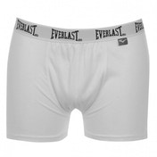 Everlast Boxer Shorts White Large