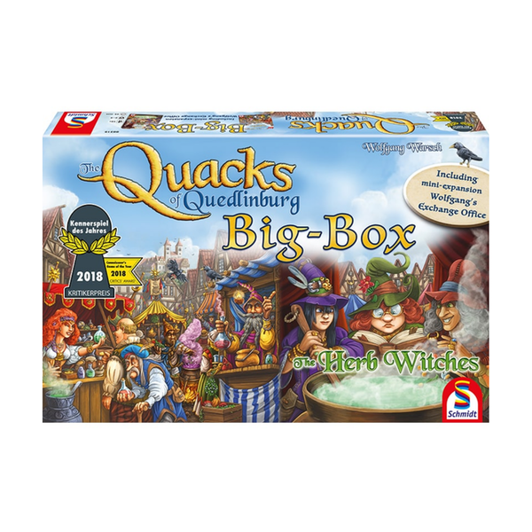 The Quacks Of Quedlinburg: Big-Box Board Game