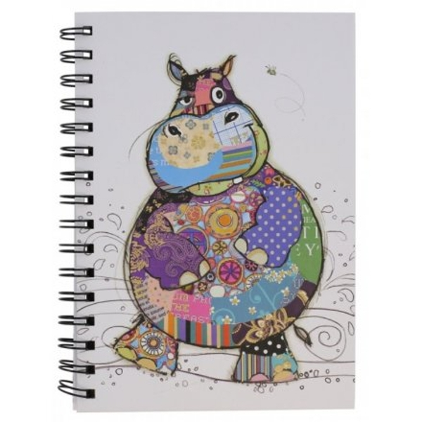 Harry Hippo Bug Art A5 Notebook