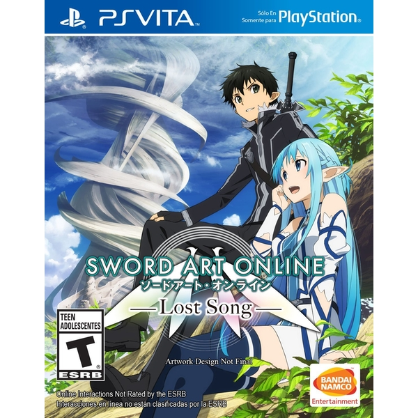 Sword Art Online Lost Song PS Vita Game