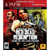 Red Dead Redemption Game Of The Year Edition (GOTY) PS3 (#)