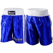 Boxing Shorts With Side Bands Men Size Large (Blue)