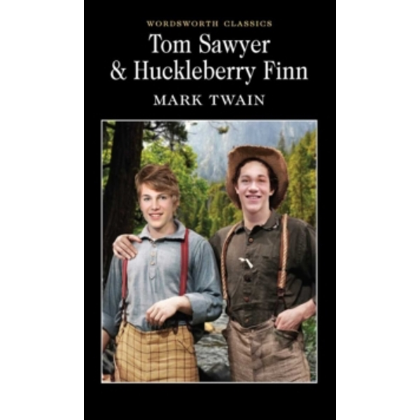 Tom Sawyer & Huckleberry Finn by Mark Twain (Paperback, 1992)