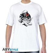 Captain Harlock - Albator Atlantis Men's X-Small T-Shirt - White