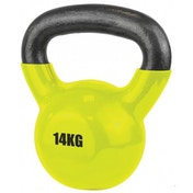 UFE Vinyl Coated Kettlebell 14kg Yellow