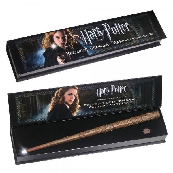 Hermione Granger's Illuminating Wand (Harry Potter) Noble Collection Replica - Image 1