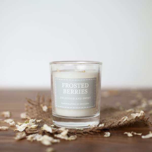 Frosted Berries (Pastel Collection) Votive Candle
