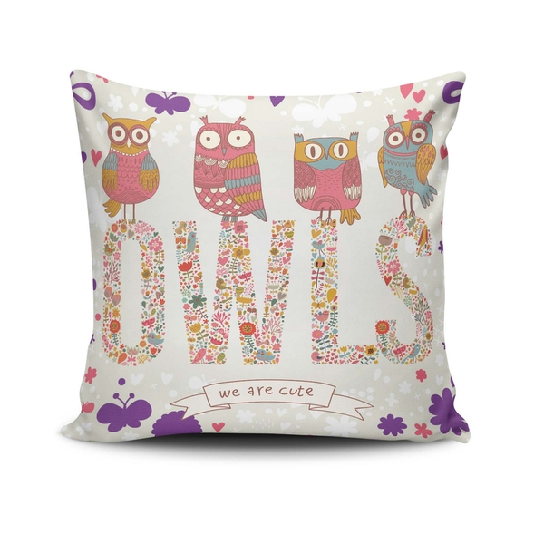 NKLF-216 Multicolor Cushion Cover