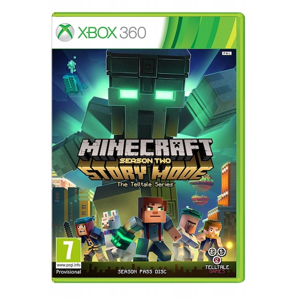 Minecraft Story Mode Season 2 Pass Disc Xbox 360 Game