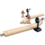 Hape Mechanical Railway Signals Wooden Expansion Pack