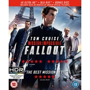 Mission: Impossible - Fallout 4KUHD   Blu-ray   Bonus Disc