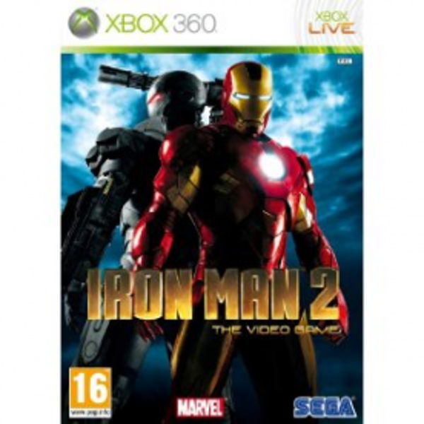 Iron Man 2 Game Xbox 360