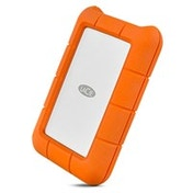 LaCie Rugged USB-C 1000GB Orange,Silver external hard drive