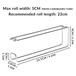 Wall Mounted Kitchen Roll Holder | Stainless Steel | M&W - Image 5