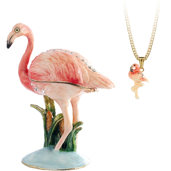 Secrets from Hidden Treasures Flamingo
