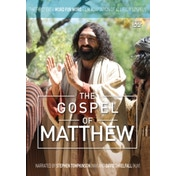 The Gospel of Matthew: The First Ever Word for Word Film Adaptation of All Four Gospels by Lion Hudson Plc (DVD video, 2016)