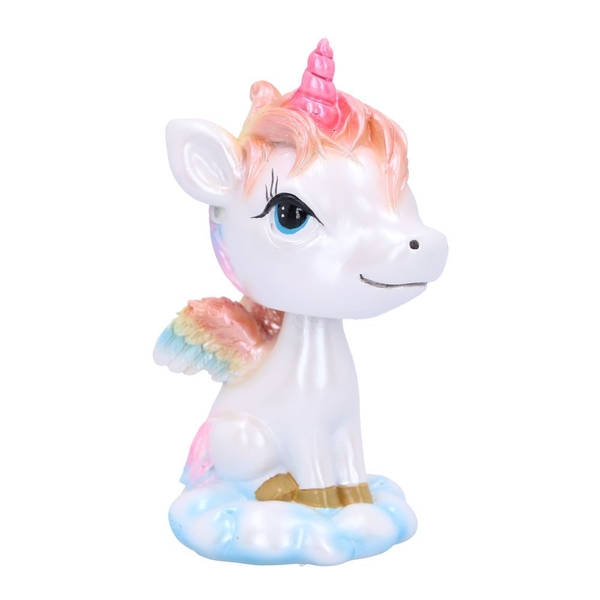 Bobble Horn Unicorn Bobble Head Figurine