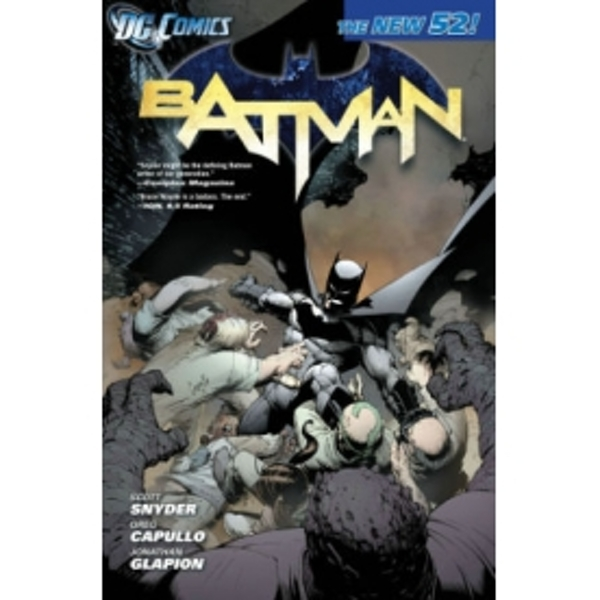 Batman Volume 1 The Court of Owls The New 52 TP