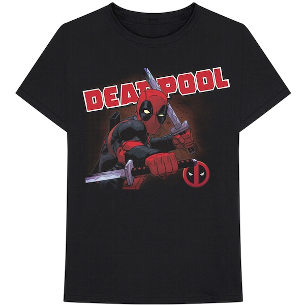Marvel Comics - Deadpool Cover Men's XX-Large T-Shirt - Black
