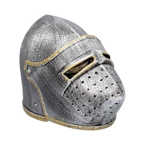 Silver Night Bascinet Helmet (Pack of 3)