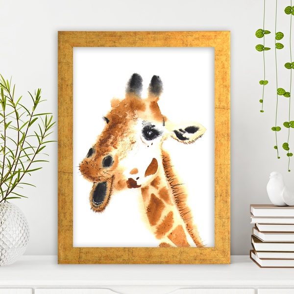 AC2589411454 Multicolor Decorative Framed MDF Painting